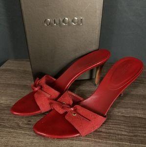 Gucci heels size 8B
